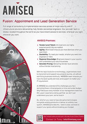 AMISEQ fusion Brochure