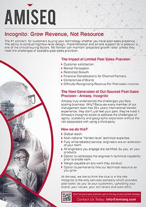 AMISEQ Incognito Brochure